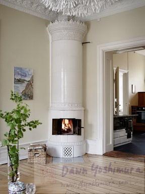 1800s ceramic furnace