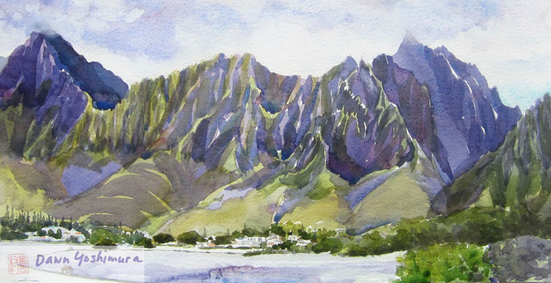 Windward Breezes by Dawn Yoshimura